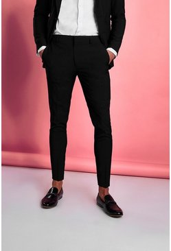 Black Byxor i super skinny fit