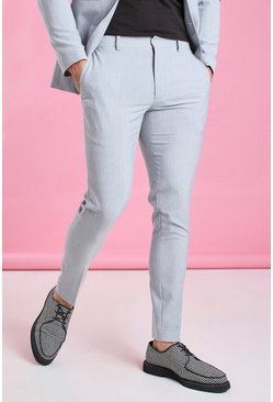 Grey Super Skinny Trouser