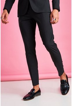 Charcoal Super Skinny Pants
