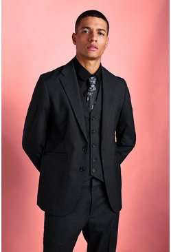 Charcoal Slim Fit Blazer