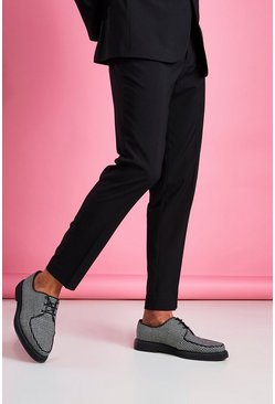 Slim Fit Trouser, Black