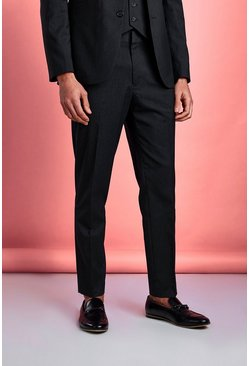 Slim Fit Trouser, Charcoal