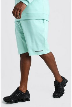 Mint Big And Tall MAN Official Raw Hem Short