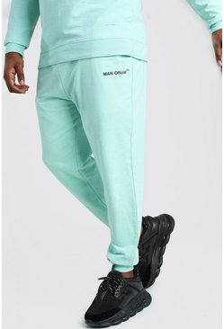 Big And Tall MAN Official Heavyweight Jogger, Mint