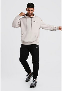 Stone Contrast MAN Signature Loose Fit Tracksuit