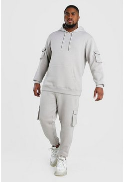 Slate Big And Tall MAN Dash Cargo Tracksuit