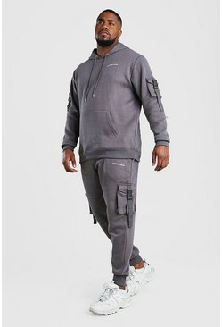 Slate Big And Tall MAN Official Utility Tracksuit