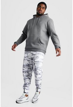 Slate Big And Tall MAN Hoodie and Jogger Set