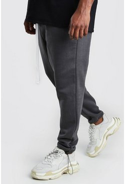 Charcoal Big And Tall Drop Crotch Jogger