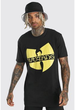 Black Wu-Tang Clan Print T-Shirt
