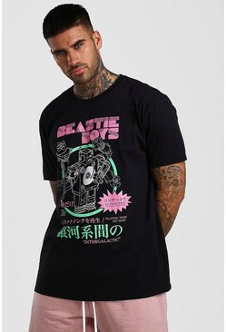 Black Oversized Beastie Boys T-Shirt