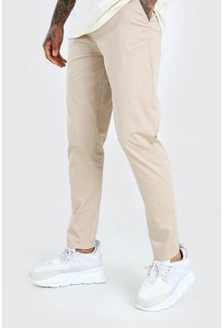 Sand Tapered Fit Chino Trouser