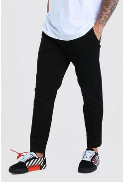 Black Slim Fit Chino