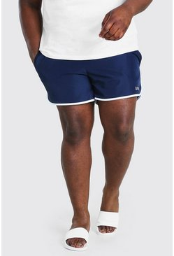 Navy Big And Tall MAN Dash Runner Swim Short