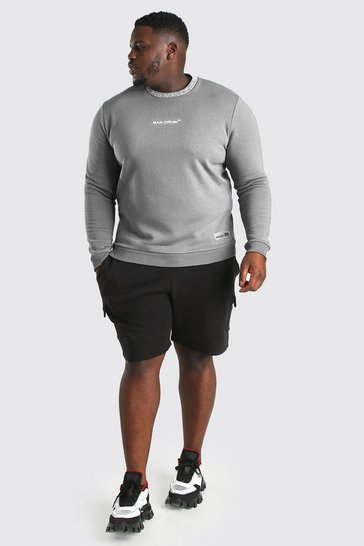 Slate Big And Tall MAN Official Sweater