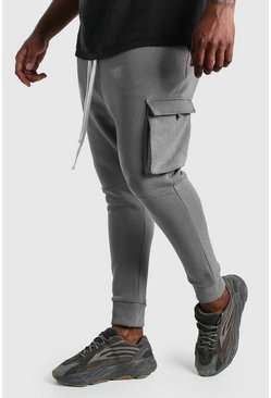 Slate Big And Tall Deep Cuff Utility Jogger