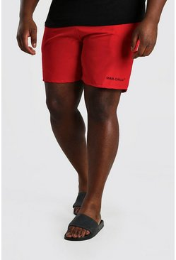 Red Big And Tall MAN Official Swim Short