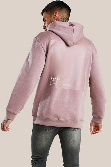 Bark Original MAN Loose Fit Hoodie With Back Vinyl Print