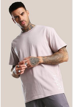 Bark Original MAN 3D Embroidered Loose Fit T-Shirt