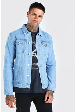 Light blue Regular Denim Western Jacket