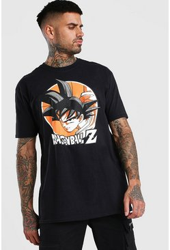 Black Oversized Dragonball Z License T-Shirt