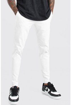 White Super Skinny Chino Trouser