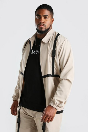 Stone Big And Tall Utility Shell Harrington