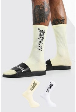 Yellow Abode 2 Pack Socks
