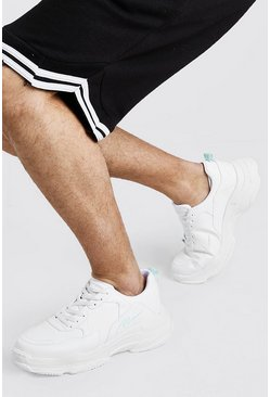 White Chunky Aqua Tab MAN Trainer