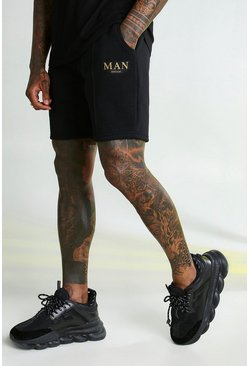 MAN Gold Shorts, Schwarz