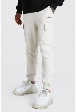 Stone MAN Signature Slim Fit Cargo Joggers