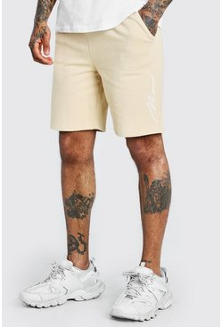 Stone 3D MAN Signature Embroidered Short