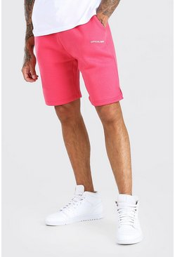 Coral Official Man Mid Length Short