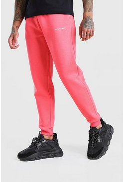 Coral Official Man Print Jogger