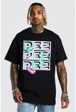 Black PEZ License T-Shirt