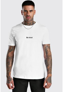 Be Kind Charity T-Shirt, White