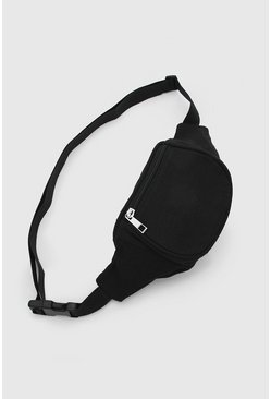Plain Bumbag, Black