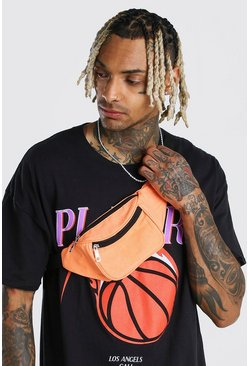 Plain Bumbag, Orange