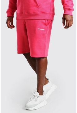 Coral Big And Tall MAN Official Print Shorts