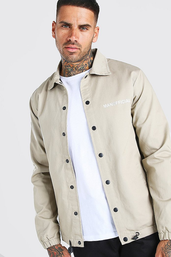 Mens Padded Coach Jacket find Brand