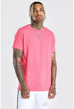 T-shirt long, Rose