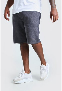 Short de basket Big And Tall HOMME en jersey, Anthracite :