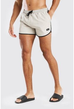 Stone MAN Official Runner Style Swim Short With Tab
