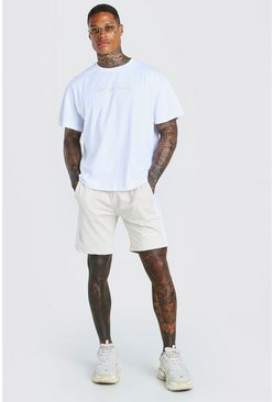 Stone Oversized MAN Official T-Shirt & Short Set