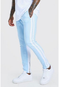 Powder blue Official MAN Regular Fit Tricot Jogger