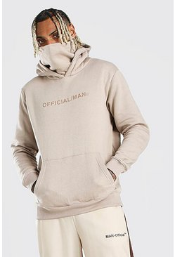 Stone Man Official Snood Hoodie