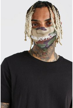 Khaki MAN Official Camo Fashion Mask