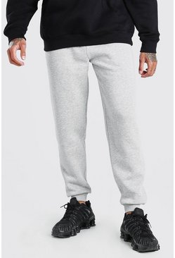 Grey Basic Loose Fit Jogger