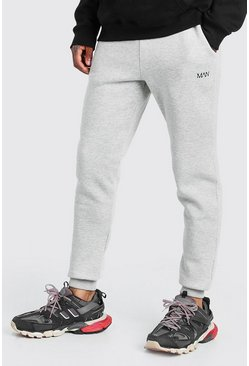 Grey MAN Dash Slim Fit Joggers