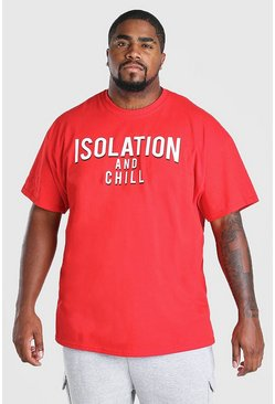 Red Big & Tall Isolation & Chill T-Shirt